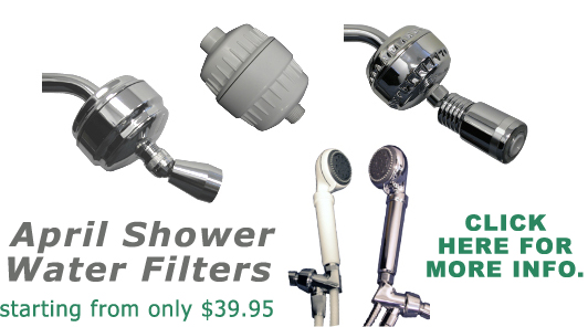 shower filter by april shower deluxe. Black Bedroom Furniture Sets. Home Design Ideas